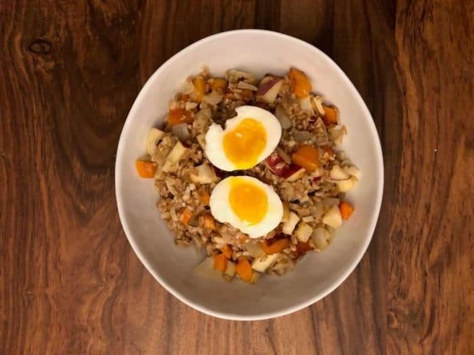 Roasted Fall Vegetable & Farro Salad by Blue Apron