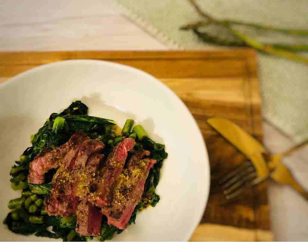 Seared Steak by Plated