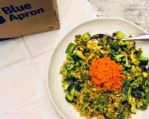 Freekeh & Vegetable 'Fried Rice' by Blue Apron