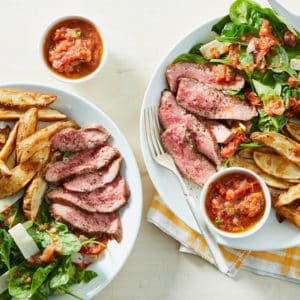 Steak & Oven Fries