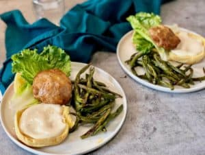 Southwest Turkey Burgers by Dinnerly