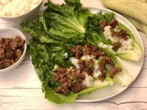 Dinnerly Recipe Review: Stir-Fry Beef Lettuce Wraps