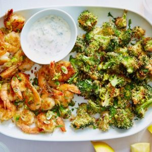 Pepperoncini Shrimp & Broccoli