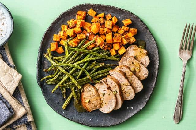 Honey-Glazed Pork Tenderloin
