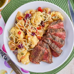 Paprika-Spiced Strip Steaks
