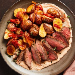 Sherry-Marinated Steak