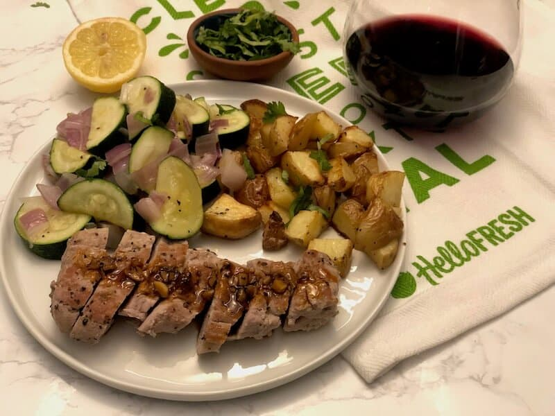 Roasted Pork Tenderloin by Hello Fresh