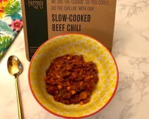 Slow-cooked Beef Chili by Freshly