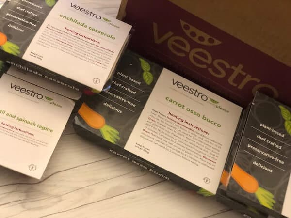veestro meal kits review