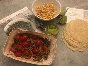 Review: Santa Monica Quinoa and Black Bean Tacos By Sun Basket