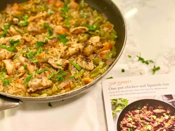 Sun Basket One-Pot Chicken and Spanish Rice