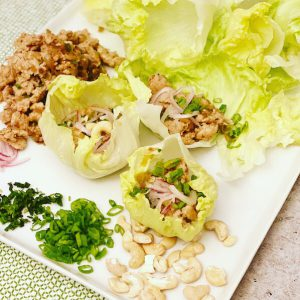 Sun Basket Thai Chicken Lettuce Cups
