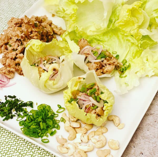 sun basket lettuce cups meal