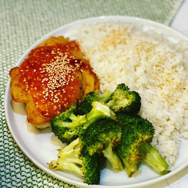 Crispy Sesame Chicken