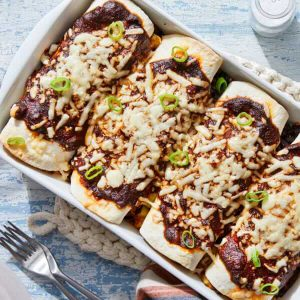 blue apron Black Bean And Zucchini Enchiladas
