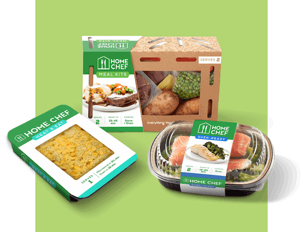 Home Chef Oven-Ready meal kits